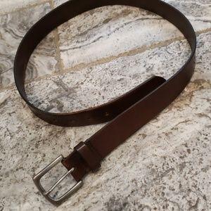Gap leather belt - mens